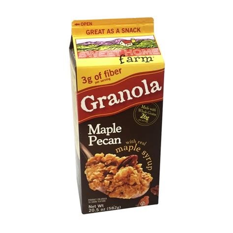 sweet home farm maple pecan granola from cub instacart
