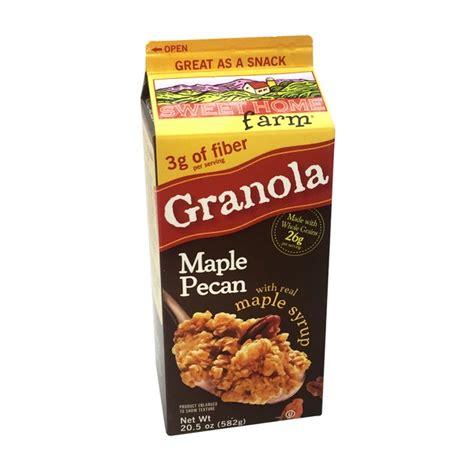 sweet home farm maple pecan granola from cub instacart