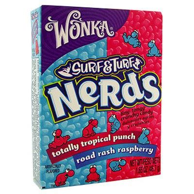 Wonka Nerds Strawberry Grape Candies 47 Gr buy wonka nerds surf turf tropical punch raspberry