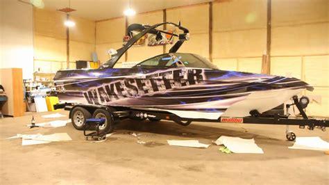 boat wraps mn mn boat wraps malibu boat wrap youtube