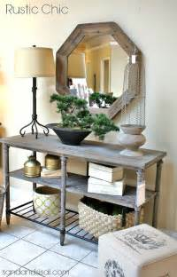 entry table ideas rustic chic entry table foyer ideas havertys home