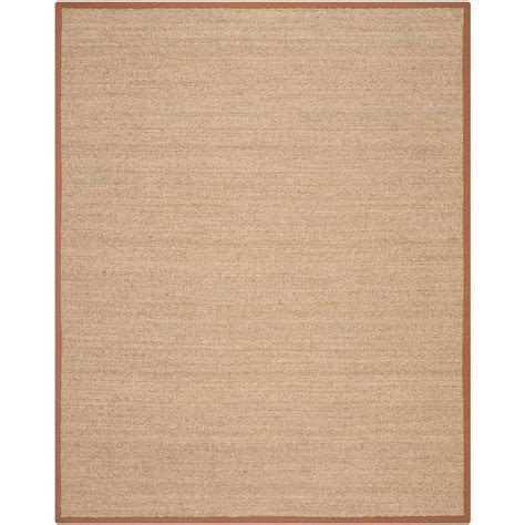 home depot seagrass rug home legend seagrass 8 ft x 10 ft area rug hlsgr80 the home depot