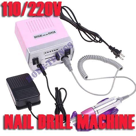 Cuspidal Nail Drill Untuk Nail electric professional nail salon drill glazing machine