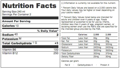 recovery room nutrition facts lemonade rockstar recovery drink of 24 king s cup