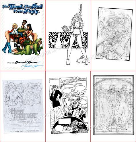 sketchbook pro ebay amanda comic powergirl the pro 2007 sketchbook ebay