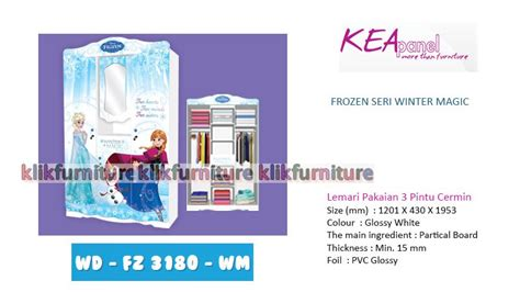 Lemari Anak Frozen lemari anak wd fz 3 180 wm frozen kea panel diskon promosi
