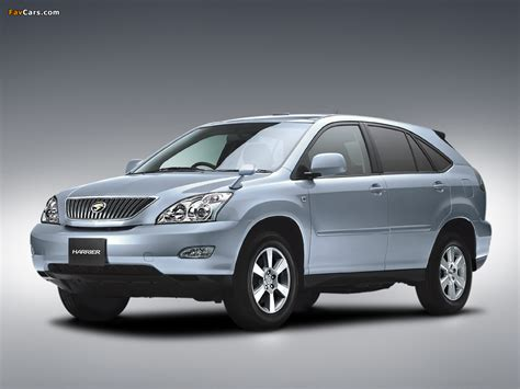 pictures of toyota harrier toyota harrier 2003 pictures 1024x768