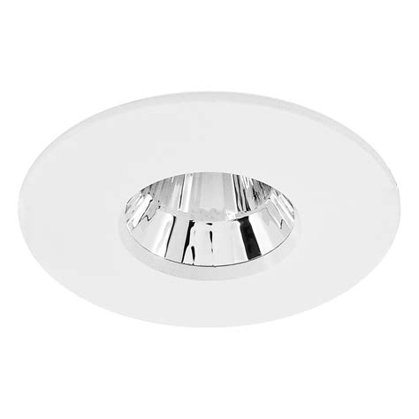 Luxmenn Downlight 7w White blaze fixed led downlight warm white 2700k 7w