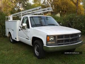 Chevrolet Utility Trucks 1996 Chevy Utility Truck