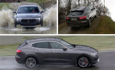 maserati jeep 2017 2017 maserati levante suv drive review car and