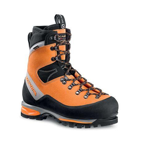 scarpa mens boots scarpa s mont blanc gtx boot at moosejaw