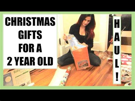 christmas gifts for a 2 year old haul vlogmas day 11