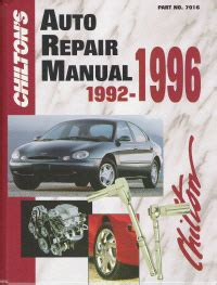 service manual car owners manuals free downloads 1992 dodge ram wagon b350 engine control 1992 1996 chilton s auto repair manual
