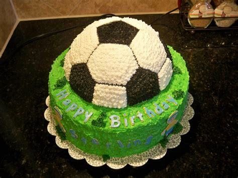 Soccer Birthday Cake lena s sweet creations soccer birthday cake
