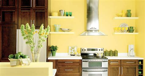 kitchens painted yellow color psychology feng shui decorating yellow walls
