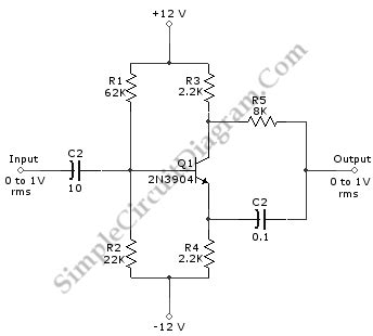 transistor lifier phase shift single transistor variable 0 180 deg phase shifter simple circuit diagram