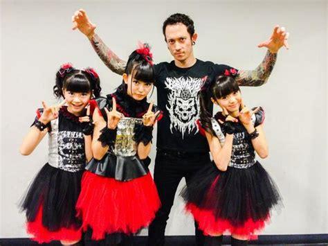 Babymetal meet members of metallica slayer carcass deftones amp more