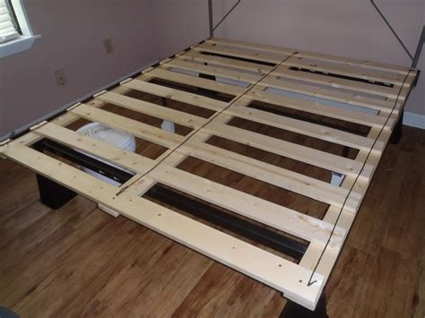 Bed Frame For Mattress Only Makingbox Into The Frame Only Use Some Legs From With Platform Bed No Box