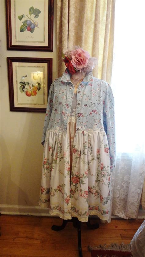 shabby chic clothing sale clothing shabby chic duster altered couture