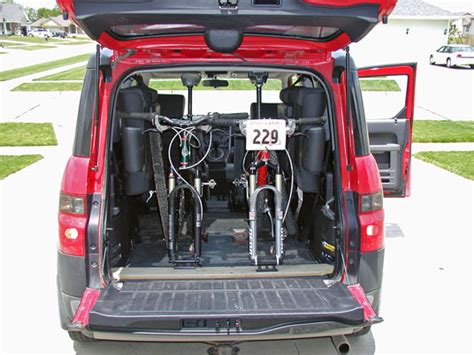 29er in a honda element mtbr