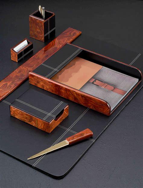 Leather Desk Blotter Sets Desk Blotter Set Leather Desk