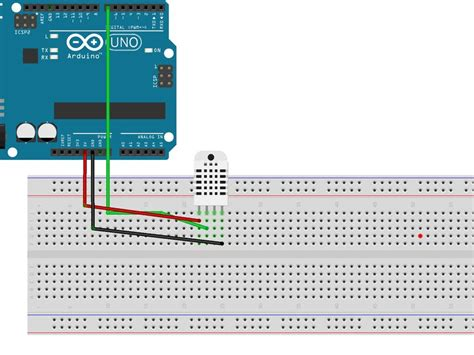 code arduino dht22 temperature monitoring with dht22 arduino hackster io