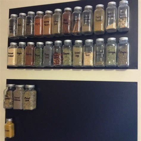 Create Your Own Spice Rack how to make your own diy magnetic spice rack removeandreplace
