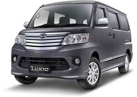 Sparepart Daihatsu Luxio daihatsu indonesia produsen mobil keluarga terbaik