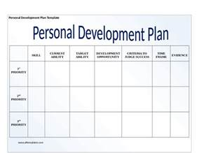 development plans template personal development plan template how to write personal