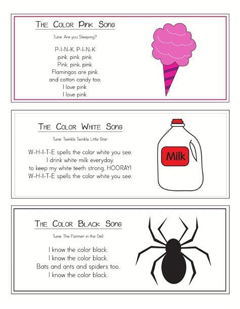 color songs for preschool color songs ring classroom ideas color songs