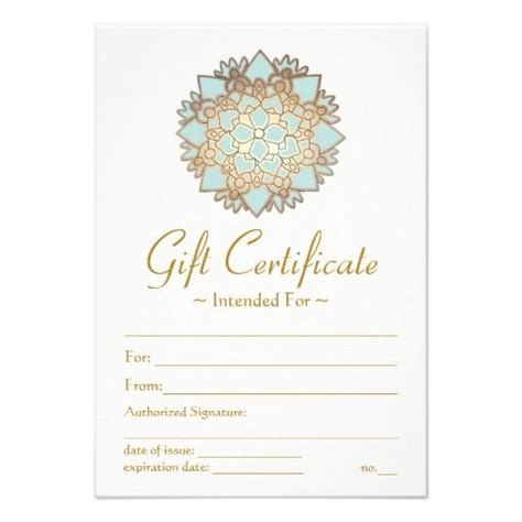 printable spa gift cards best 25 gift certificate templates ideas on pinterest