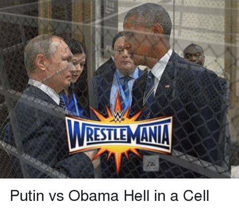 Obama Vs Putin Funny Meme