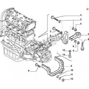 Fiat 500 Gearbox Rear Gearbox Mount Mounting Fiat Stilo