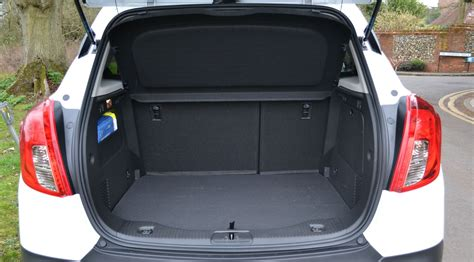 opel mokka trunk image gallery opel mokka luggage space