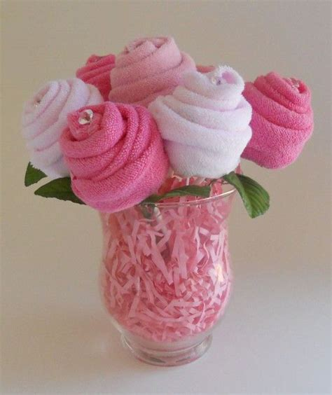 Baby Shower Washcloth Bouquet by Baby Bouquet The Blossom Baby Shower Gift Washcloth