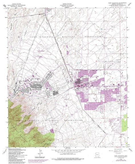 fort huachuca map fort huachuca topographic map az usgs topo 31110e3