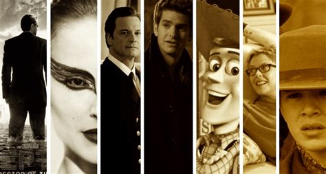 2011 best picture nominees televisual best picture nominees