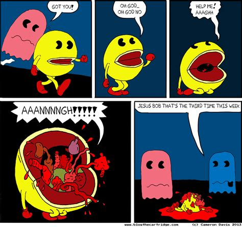 Pac Man   Blow The Cartridge