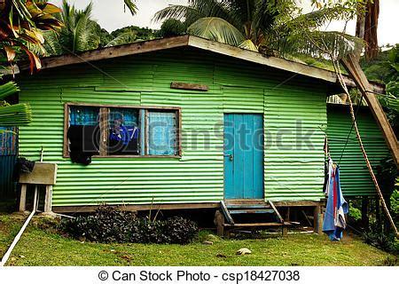 stock photos of local house vanua levu island fiji - Local House South