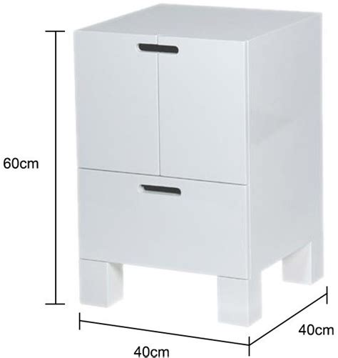 how high should a bedside table be white high gloss bedside table modern design bedside tables