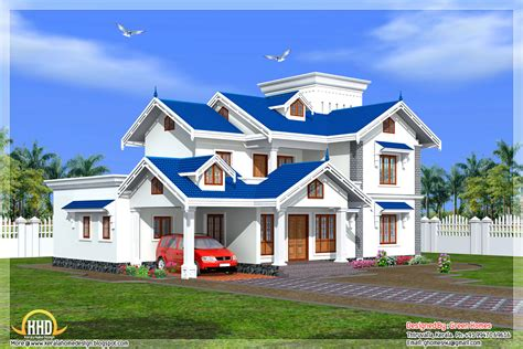 Best 2 Story 4 Bedroom Designs For Low Cost Housing by Beautiful 4 Bedroom Kerala House Home Appliance