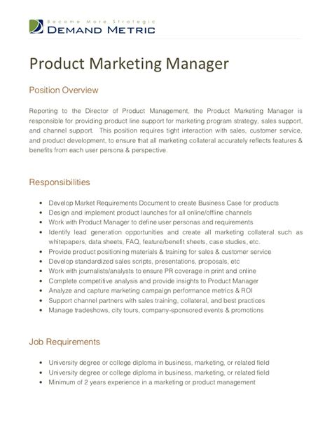 budget manager job description trade marketing manager job