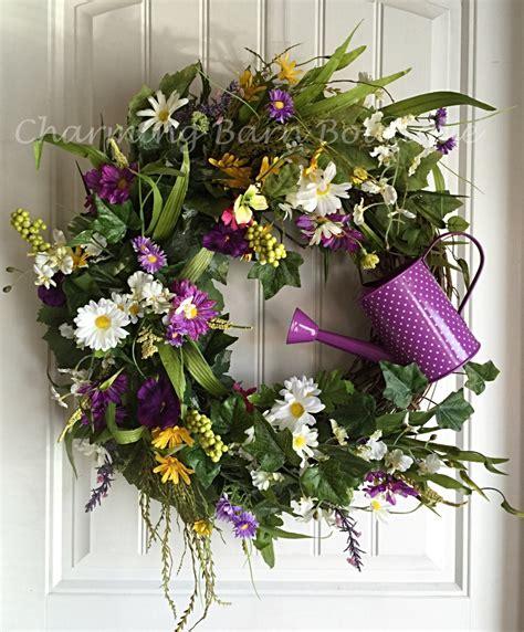 grapevine floral design home decor the spring wreath spring grapevine wreath summer wreath