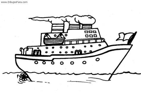 imagenes para colorear barco dibujo de barco crucero dibujos de barcos para pintar