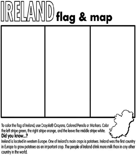 europe flag coloring page they were strong and good ancestry ireland coloring