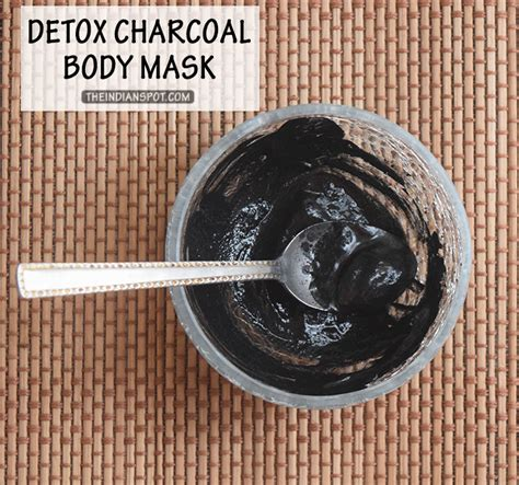 Detox Mask Benefits by Diy Detox Charcoal Mask Theindianspot
