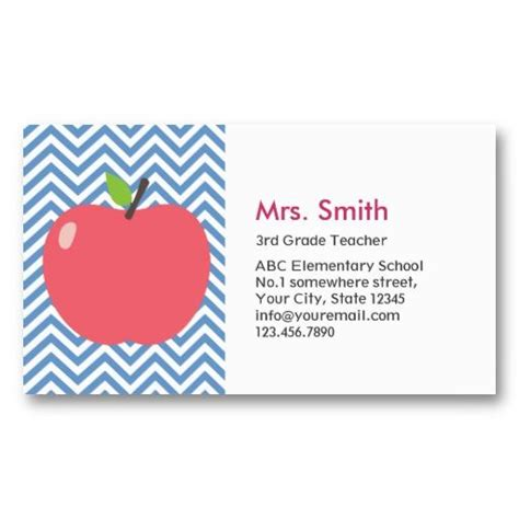 business cards for substitute teachers template best 25 business cards ideas on back