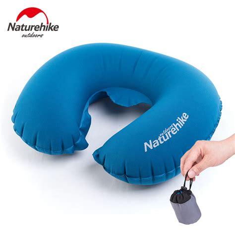 Up Airplane Pillow by Naturehike Folding U Shape Air Pillow Outdoor