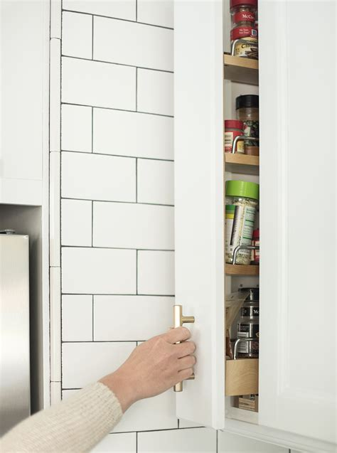 Customizable Spice Rack by Client Project A Tuxedo Kitchen Room For Tuesday