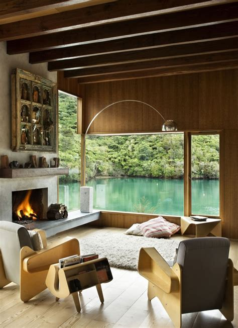 waterfall bay house  bossley architects